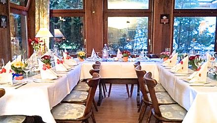 Räume für Familienfeiern im Hotel Grüner Baum